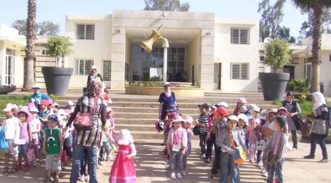 Sortie pour enfants à Diamant Vert, Fès le 15/5/2014