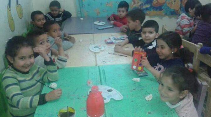 Activité créative pour les enfants du préscolaire